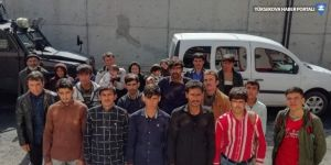 Gevaş'ta 24 Afganistanlı kaçak şahıs yakalandı