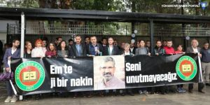 Diyarbakır Barosu 147'nci kez Tahir Elçi'yi andı