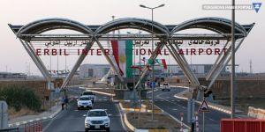 Erbil'de uçak seferleri iptal edildi