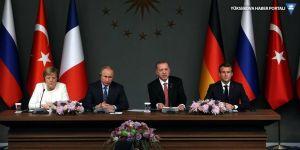 Liderler zirve sonrası açıklamalarda bulundu: Siyasi bir çözüm bulmak gerekiyor