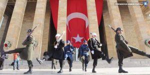 Cumhuriyet Bayramı Anıtkabir'de kutlanıyor