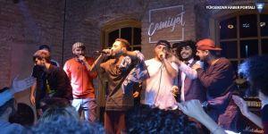 İlk Kürtçe rap gecesi İstanbul'da gerçekleşti!