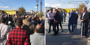 HDP'li vekillerin açıklama yapması engellendi