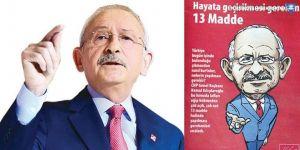 CHP'den Erdoğan'a karikatürlü 9 soru