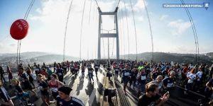 İstanbul Maratonu koşuluyor