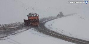 Kar ve tipi nedeniyle ulaşım kötü etkileniyor