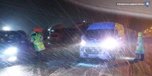 Konya-Antalya ulaşımına kar engeli