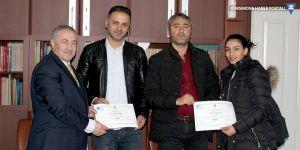 YÜTSO'da sertifika töreni yapıldı