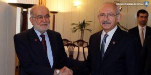 Kılıçdaroğlu'dan Saadet Partisi'ne ziyaret