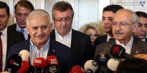 Yıldırım ve Kılıçdaroğlu Meclis'te görüştü