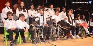 Yüksekova'da '3 Aralık Dünya Engelliler' günü etkinliği