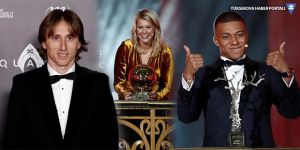 Ballon D'Or ödülünü kazananlar belli oldu