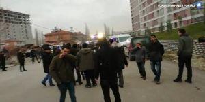 TOKİ işçileri gözaltına alındı