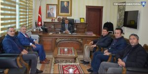 YÜTSO, Şemdinli Kaymakamı Türkman'ı ziyaret etti