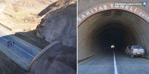 Yüksekova Sarıtaş Tüneli tamamlandı