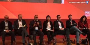HDP heyeti PES kongresine katıldı