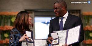 Nobel Barış Ödülü sahipleri: Tecavüz savaş silahı olarak kullanılmasın