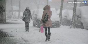 Malatya'da eğitime kar tatili