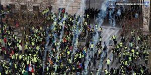 Macron'dan 'Sarı Yelekler'e çağrı: Ülkemizin sükunete, düzene ihtiyacı var