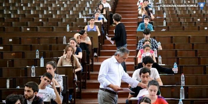 Üniversite sınavına 2.5 milyon aday girecek