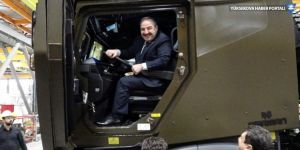 Zırhlı araç inceleyen Varank: Organize sanayiye gidelim