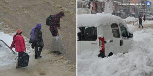 Yüksekova'da 62 köy ve 115 mezra yolu kapandı