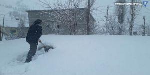 Van, Bitlis ve Hakkari'de 596 yerleşim biriminin yolu kardan kapandı
