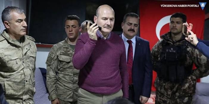 İçişleri Bakanı Soylu Yüksekova'daydı