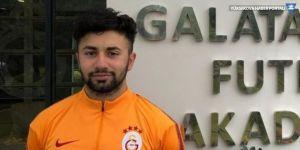 Hakkarili futbolcu Galatasaray'a imza attı