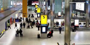 Londra Heathrow Havalimanı'nda uçuşlar durduruldu