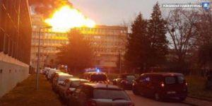Fransa'da patlama: Lyon Üniversitesi yanıyor