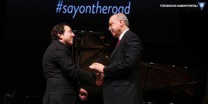 Erdoğan katıldı, Fazıl Say teşekkür etti