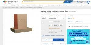 'Mustafa Kemal' kitabını 1 milyona satışa çıkardı!