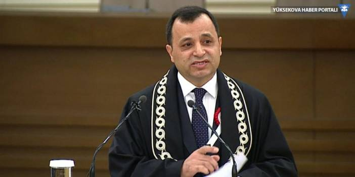 AYM başkanlığına Zühtü Arslan yeniden seçildi