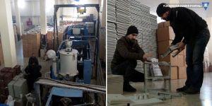 Yüksekova'dan plastik ürün ihraç ediyorlar