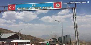 Çukurca Üzümlü Sınır Kapısı açıldı