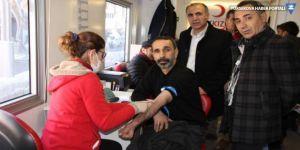 Hakkari'de Öykü Arin için kan bağışı