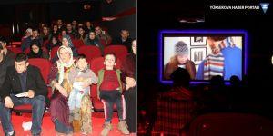 Şemdinli'de engelli öğrenciler sinemayla buluştu