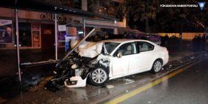 Düzce'de kaza: 12 yaralı