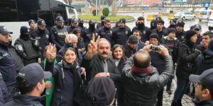 HDP vekillerinin 'Leyla Güven' yürüyüşüne izin verilmiyor
