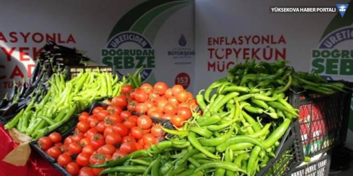 HDP'den mermili-bombalı domates, biber ve patlıcan paylaşımı