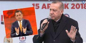 Fatih Portakal'dan Erdoğan'a: Yapacak bir şey olmayınca şaşmamak gerek