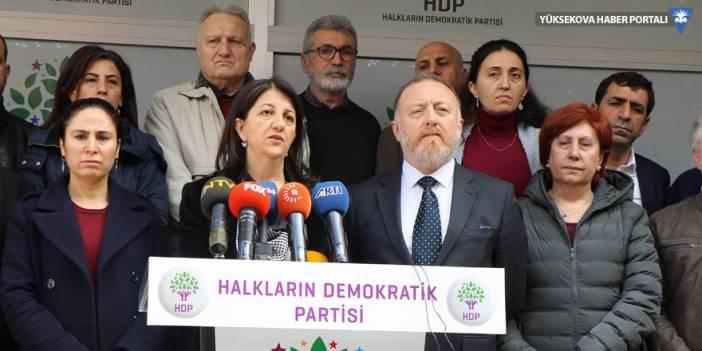 HDP'den açlık grevlerine ilişkin açıklama