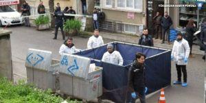 Çöp konteynırında kadın bacağı bulundu