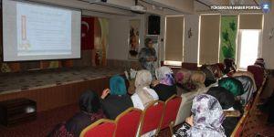 Şemdinlili kadınlara 'Aile içi iletişim' semineri