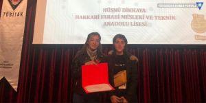 Yüksekovalı öğrenciler, TÜBİTAK yarışmasında birinci oldu!