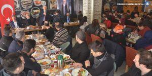 Esendere Gümrük Kapısının çalışanları kahvaltıda buluştu