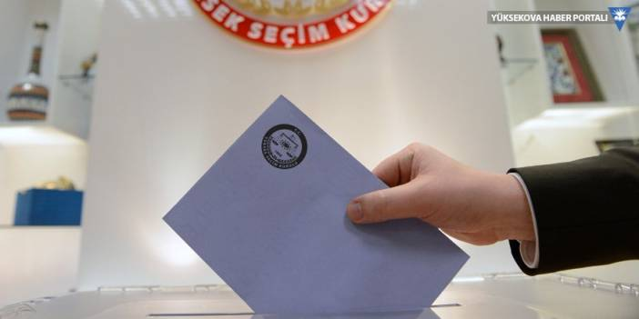 AK Parti: Fark 20 binden az, CHP: Fark 20 bin 689