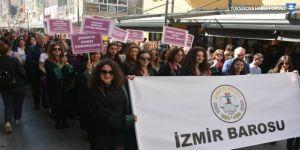 Avukatlar kadınlar için yürüdü