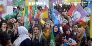 Yüksekova'da kadınlar günü kutlaması